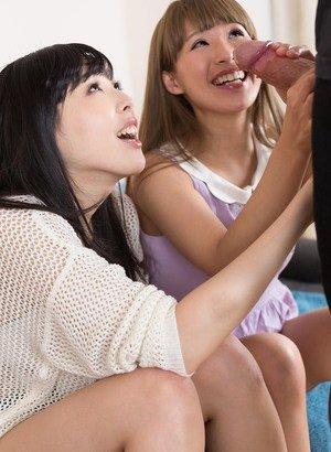 Asian Threesome Porn Pics